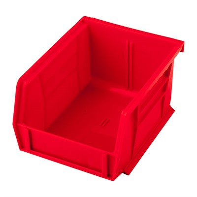 Sinclair International Uline Stackable Bullet Storage Bins - Stackable Bullet Bin, Small Red