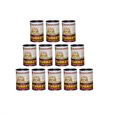Canned Meats - Turkey 14.5oz Can-12 Pack