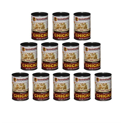 Canned Meats - Chicken 14.5oz Can-12 Pack