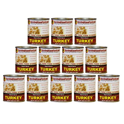 Canned Meats - Turkey 28oz Can-12 Pack