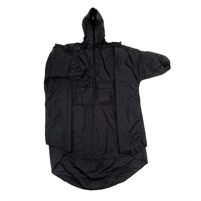 Snugpak Outdoor Products Snugpak Patrol Poncho, Black