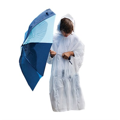 Coleman Youth Eva Rain Poncho Universal - Youth Eva Rain Poncho, Clear