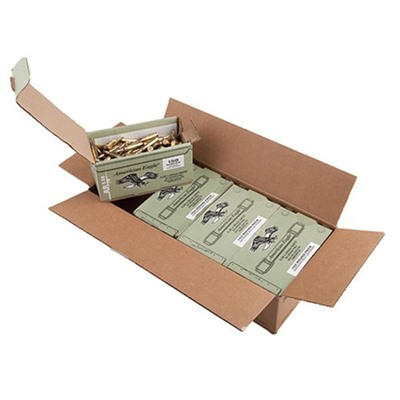 American Eagle Ammo 5.56x45mm Nato 62gr Xm855 Mini Boxes - 5.56x45mm Nato 62gr Green Tip Fmj 600/Cas