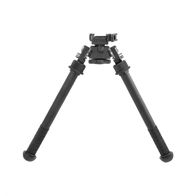 "Atlas Tall Bipod Qd Lever Picatinny Mount - Atlas Tall Bipod Qd Lever Picatinny Mount 7-13"" Bla"