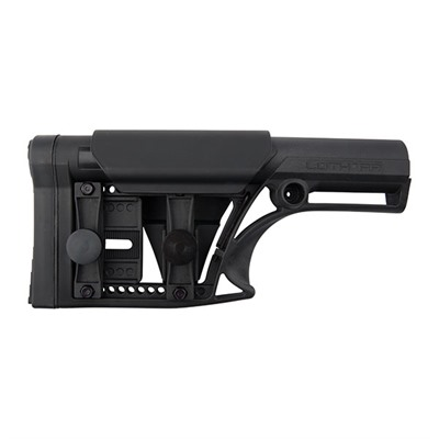 Luth-Ar Ar-15 Modular Stock Assy Fixed Rifle Length - Ar-15 Modular Stock Assy Fixed Rifle Length Blk