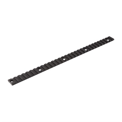 Ar-15 Picatinny Direct Thread Top Rail Aluminum - Direct Thread Top Rail Picatinny Aluminum Black 12