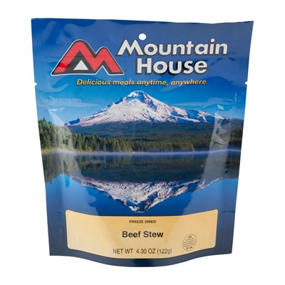 Mountain House Beef Stew Mre Beef Stew Main Entree