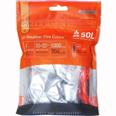 Adventure Medical Kits All-Weather Fire Cubes