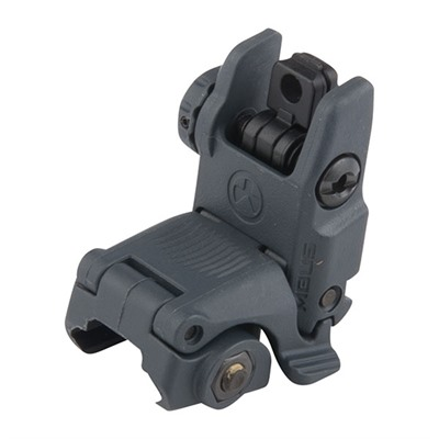 Magpul Ar 15 Mbus Gen 2 Tactical Rear Sight Ar 15 Flip Up Mbus Gen 2 Tactical Rear Sight Gray