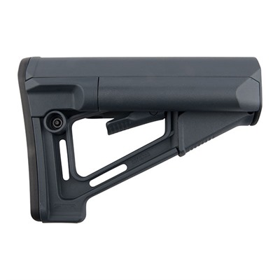 Ar 15/M16 Str Buttstock Str Commercial Stock Gray U.S.A. & Canada
