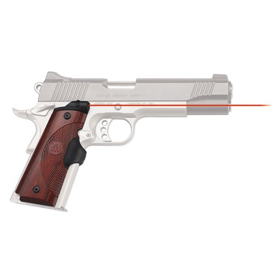 Crimson Trace Corporation 1911 Full Size Rosewood Master Series Lasergrips 1911 Full Size Rosewood Red Lasergrips