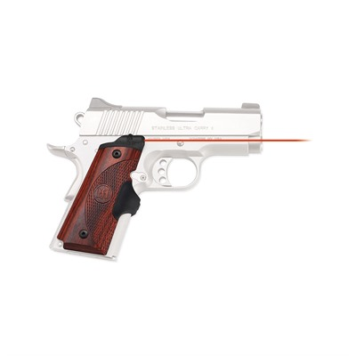 Crimson Trace Corporation 1911 Compact Rosewood Master Series Lasergrips