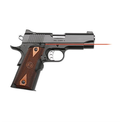 Crimson Trace Corporation 1911 Full-Size Cocobolo Master Series Lasergrips - 1911 Full-Size Cocobolo Diamond Red Lasergrips