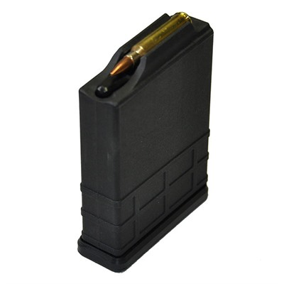 Modular Driven Technologies Short Action Aics 10rd Magazine 223/5.56 - Short Action Aics Magazine 223/5.56 10rd Polymer Black