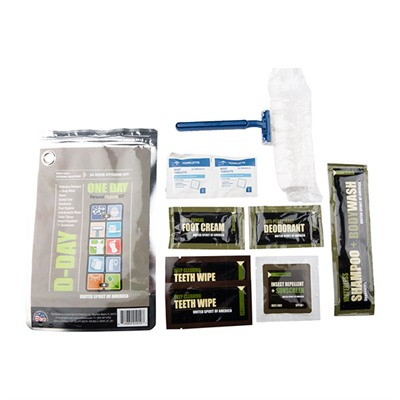 D-Day 24 Hour Hygiene Kit