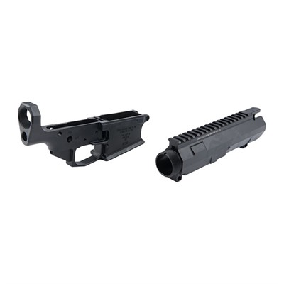 308 Ar Stripped Billet Upper & Lower Receiver Set - Ar-308 Billet Receiver Set