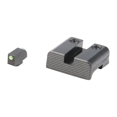 Henning Shop, Llc 100-014-868 Battlehook Fiber Optic Sight Set For Glock~