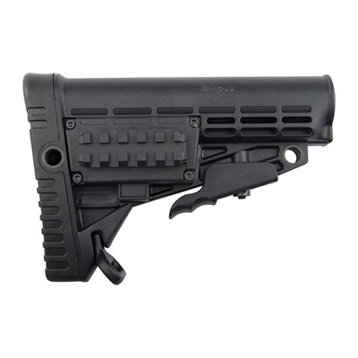 Ar-15 Stock Collapsible Commercial - Ar-15 Stock Collapsible Commercial Blk