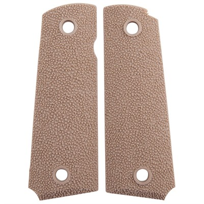 1911 Sharkskin Grips - 1911 Sharkskin Grips Tan, Ambi Safety
