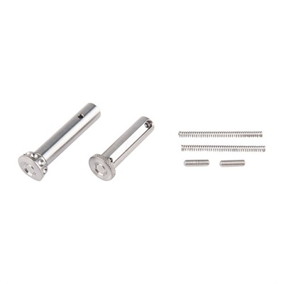 Ar15/M16 Enhanced Takedown Pins - Ar15 Enhanced Pin Set Titanium