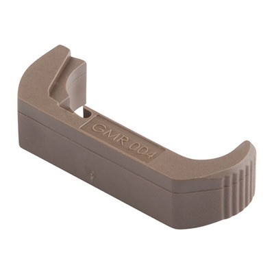 Vickers Glock® Extended Magazine Release - Glock Gen 4 Extended Mag Release, Large Frame, Tan