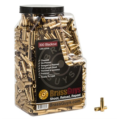 Brass Guys 300 Aac Blackout Remanufactured Brass
