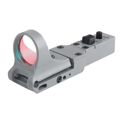 C-More Systems Slide Ride Red Dot Sight - Slideride Polymer 6 Moa Standard Switch, Gray