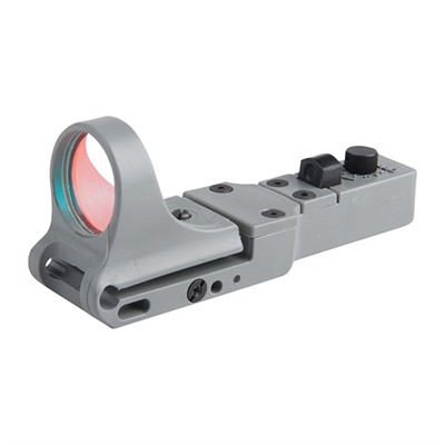 C-More Systems Slide Ride Red Dot Sight - Slideride Polymer 6 Moa Click Switch, Gray