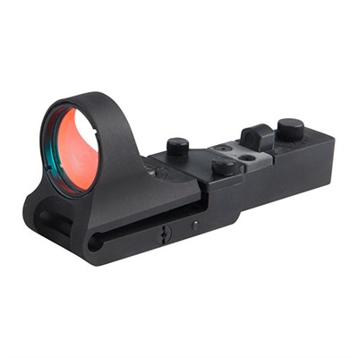 C More Systems Slide Ride Red Dot Sight Slideride Aluminum 6 Moa Click Switch Black USA & Canada