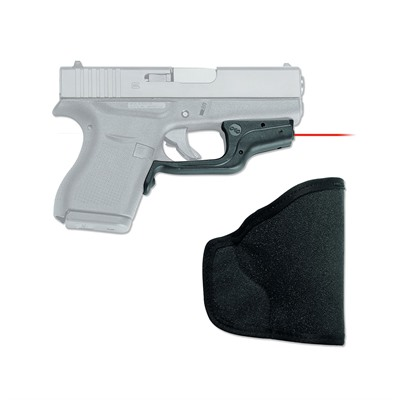 Crimson Trace Corporation Glock 42/43 Laserguard With Pocket Holster Glock 42 Red Laserguard + Pocket Holster