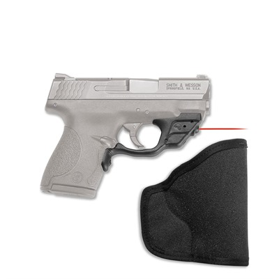 Crimson Trace Corporation S&W Shield 9/40 Laserguard With Pocket Holster S&W M&P Shield Red Laserguard + Pocket Holster