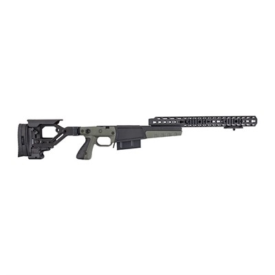 Remington 700 .300 Win Mag Aics Ax Chassis - Rem 700 .300 Win Mag Ax Stage 2 Chassis, Green