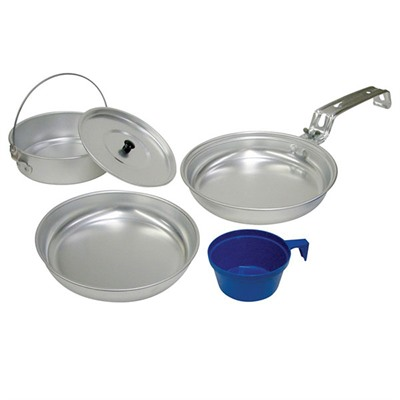 Aluminum Cook Set - 5 Piece Aluminum Cook Set
