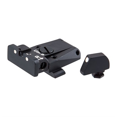L.P.A. Sights Glock Adjustable Sight Set - Glock New Dt Adjustable Sight Set