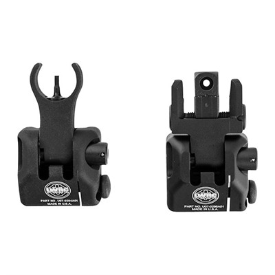 Lwrc International 100-016-399 Ar-15  Skirmish Buis Sight Set