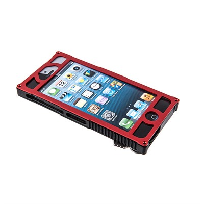 Mantis Knives Alpha 1 Iphone Case - Alpha 1 Tactical Iphone 5 Case-Red