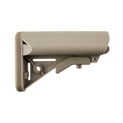 B5 Systems Ar-15 Enhanced Sopmod Stock Collapsible Mil-Spec - Ar-15 Enhanced Sopmod Stock Collapsible Mil-Spec Fde