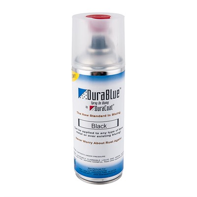 Lauer Custom Weaponry Durablue Spray-On Blueing 12oz Aerosol - Durablue Aerosol-Black