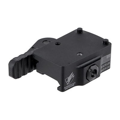 American Defense Manufacturing Trijicon Rmr Mounts - Trijicon Rmr Low Mount, Left Hand Lever