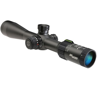 Sig Sauer Tango4 4 16x44mm First Focal Plane Rifle Scopes 4 16x44mm Ffp Moa Milling Graphite