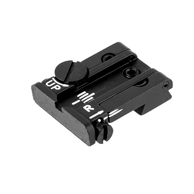 Colt Adjustable Rear Sight - Colt A1 Dovetail Adjustable Rear Sight