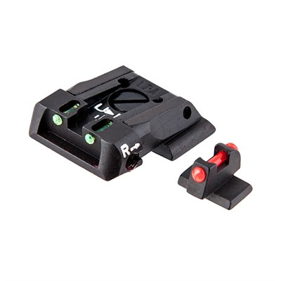 S&W M&P Fiber Optic Adjustable Sight Set