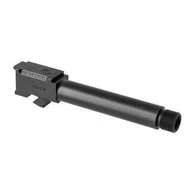 Silencerco Threaded Barrels For Glocks - Threaded Barrel For Glock 19 1/2x28