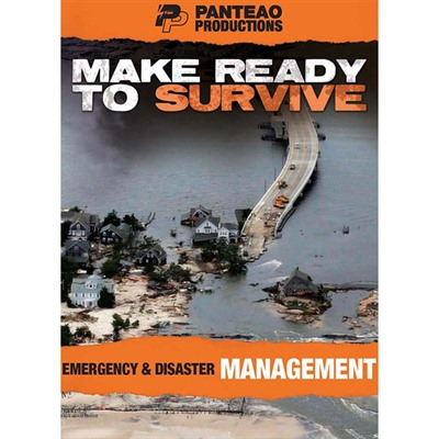 Panteao Productions 100-017-360 Make Ready To Survive: Emergency & Disaster Management