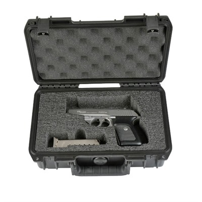 Single Pistol Case With Custom Cut Foam - Single Pistol Case-Custom Cut Foam-Small