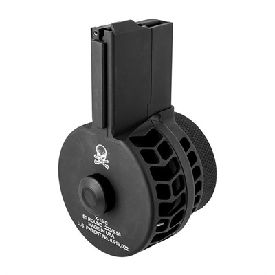 Ar-15/M16 50rd 223/5.56 Skeletonized Drum Magazine