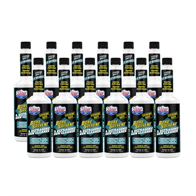 Lucas Oil Products Extreme Duty Bore Solvent - Extreme Duty Bore Solvent 16oz 12 Pack