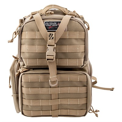 G.P.S. Tactical Range Backpack - Tactical Range Backpack-Tan