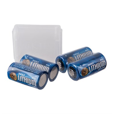 Cr123a Batteries With Link Case