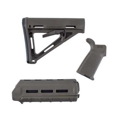 Magpul Ar-15 Moe Furniture Set M-Lok Polymer - Moe Furniture Set M-Lok Carbine O.D. Green
